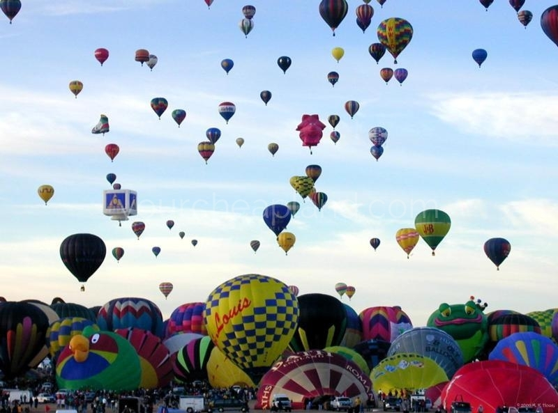 Annual International Balloon Fiesta in Albuquerque