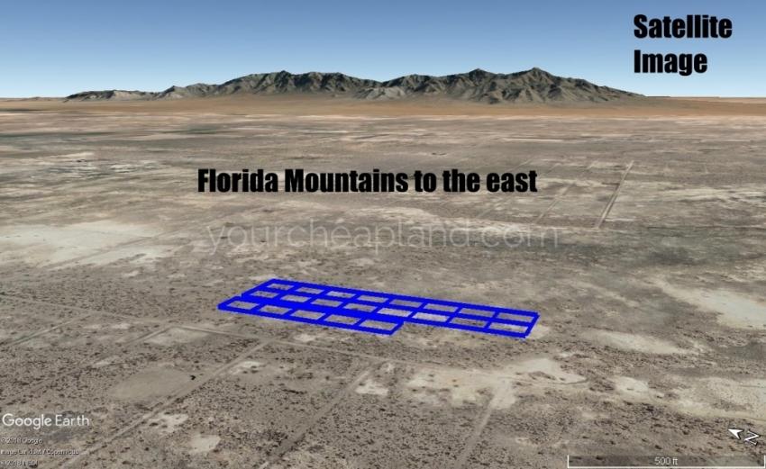 Florida Mountains View