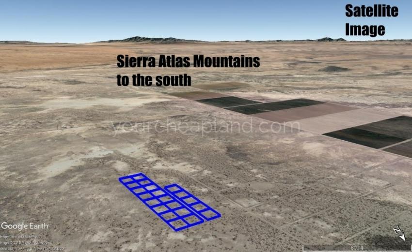 Sierra Altas Mountains View