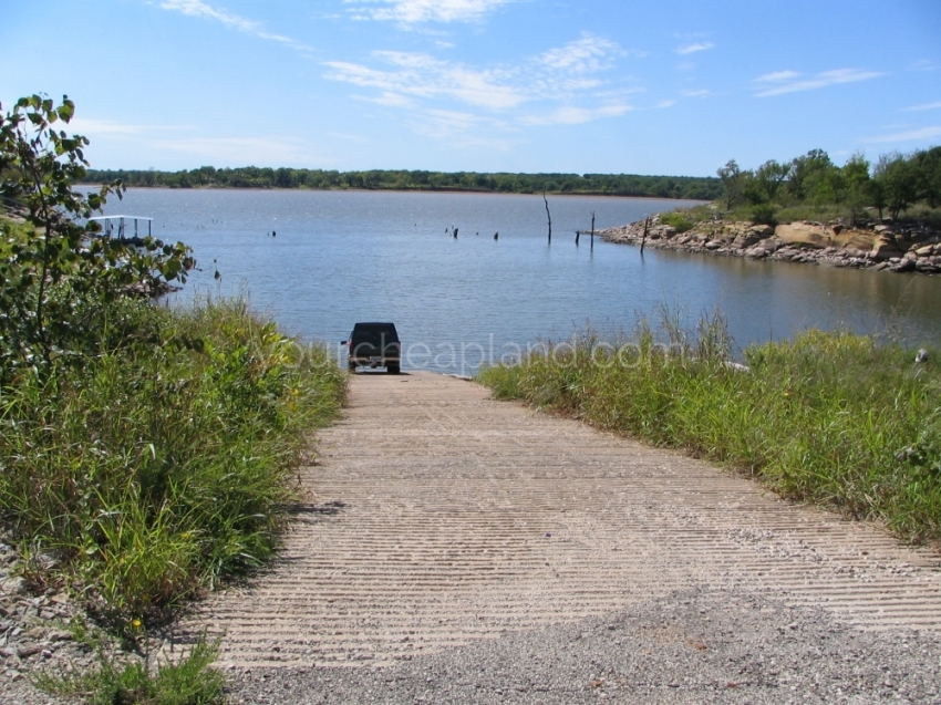 Private Boat Ramp for Property Owners
