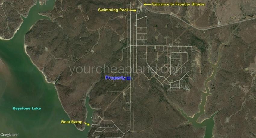 Lots 312 & 313 Location in Subdivision