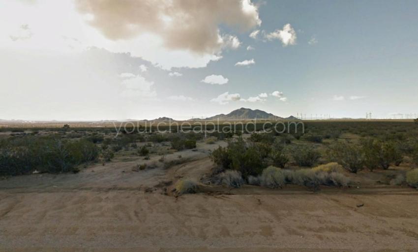 Soledad Mountain and Wind Turbines