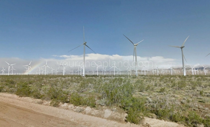Wind Turbines on Oak Creek Road